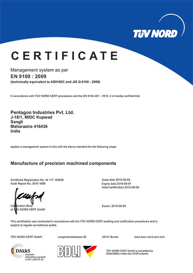 Pentagon Industries Pvt Ltd
